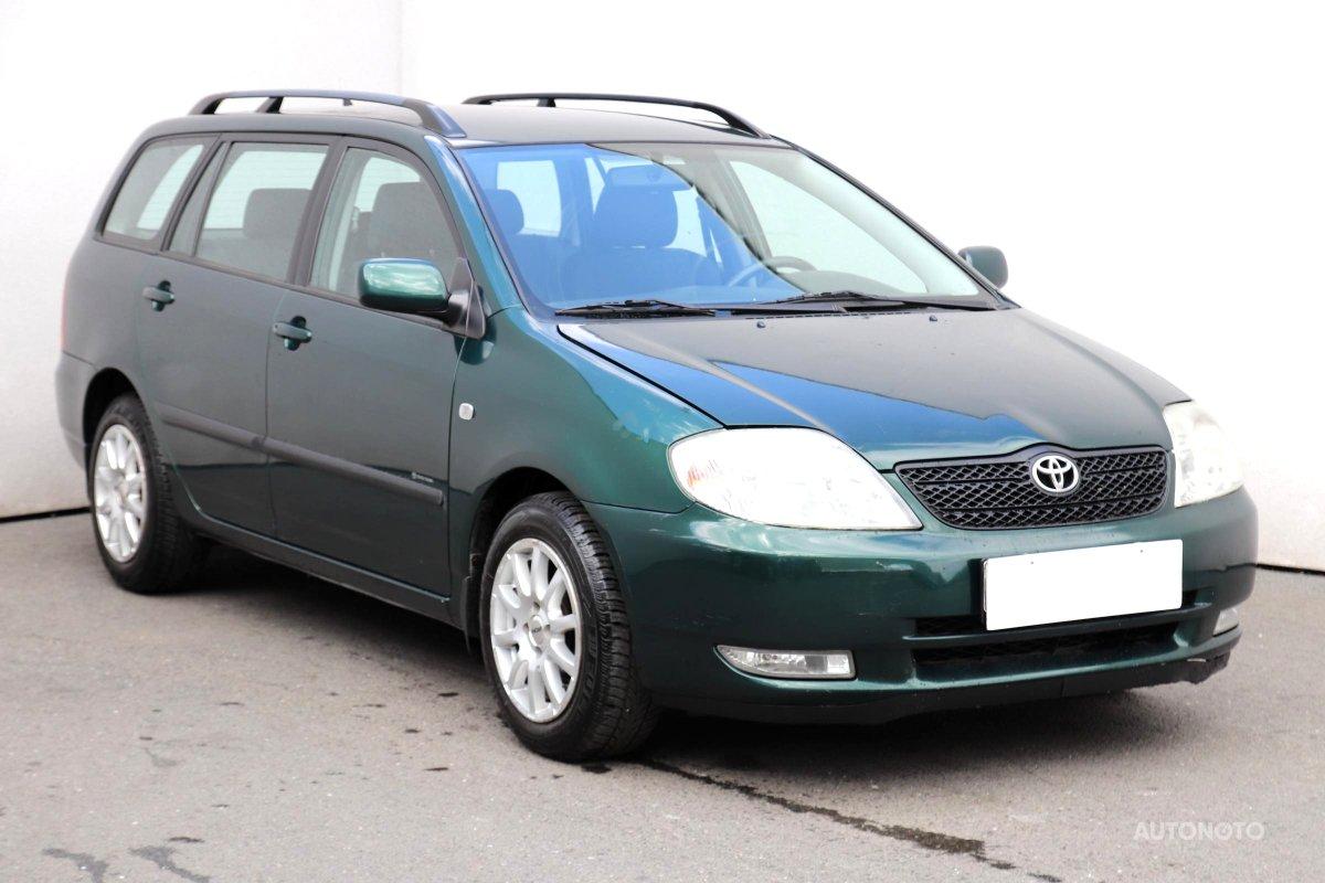Toyota Corolla, 2003 - celkový pohled