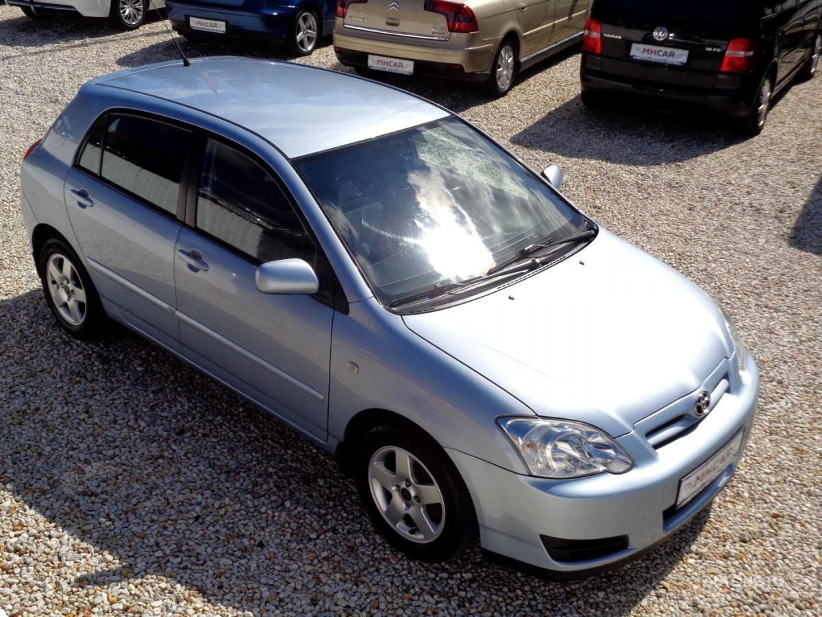 Toyota Corolla, 2007 - celkový pohled