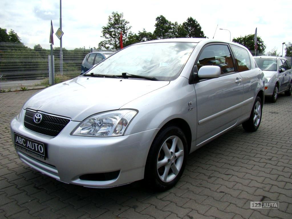Toyota Corolla, 2004 - celkový pohled