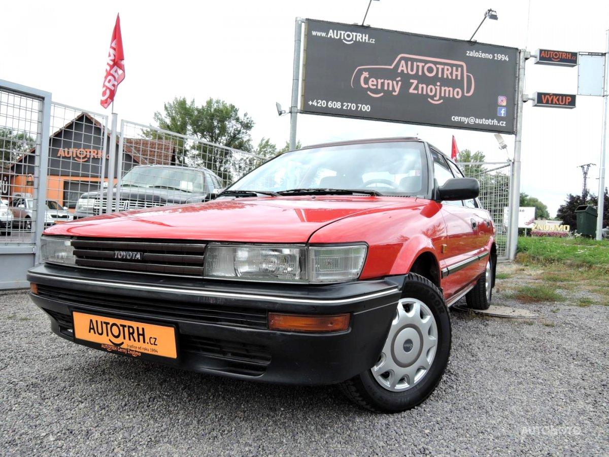 Toyota Corolla, 1988 - celkový pohled