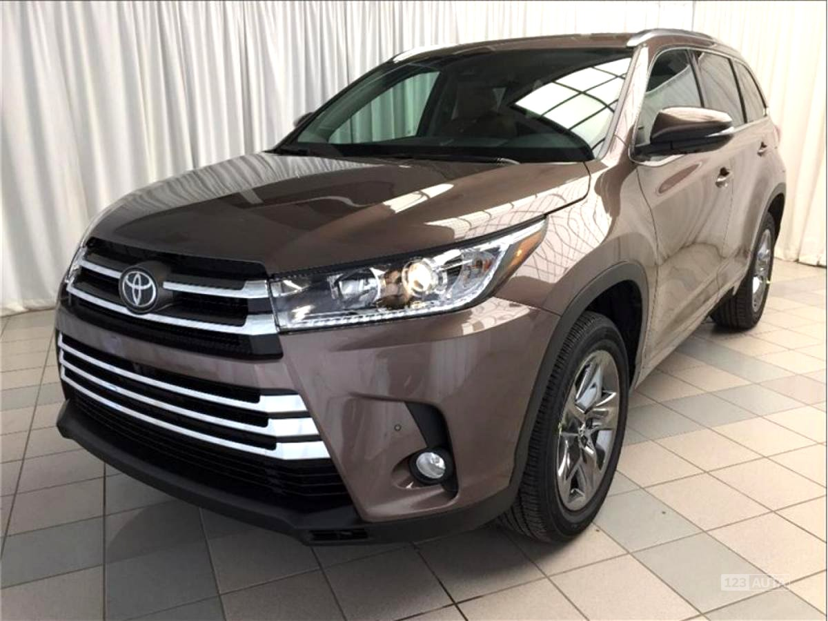 Toyota Highlander, 2017 - celkový pohled