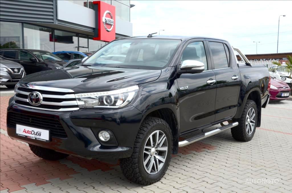Toyota Hilux, 2018 - celkový pohled