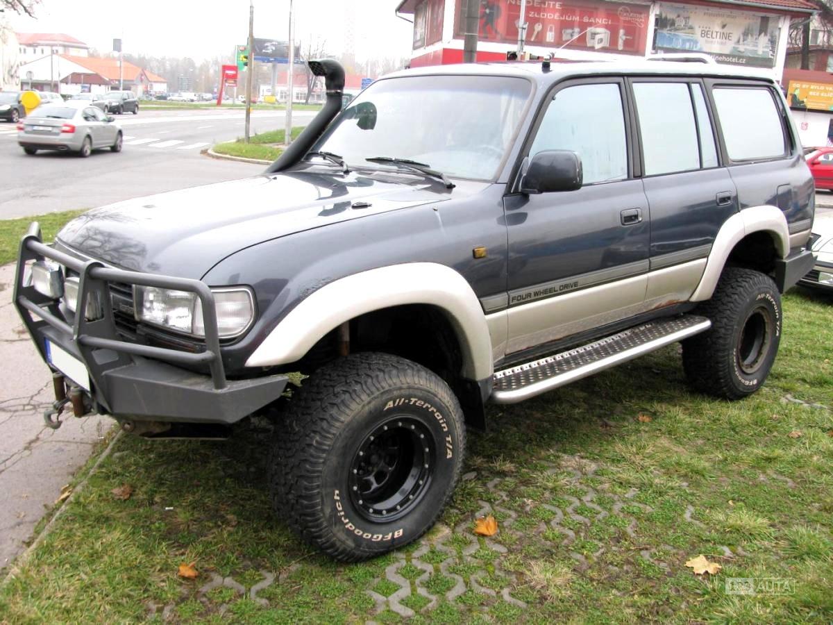 Toyota Land Cruiser, 1991 - celkový pohled