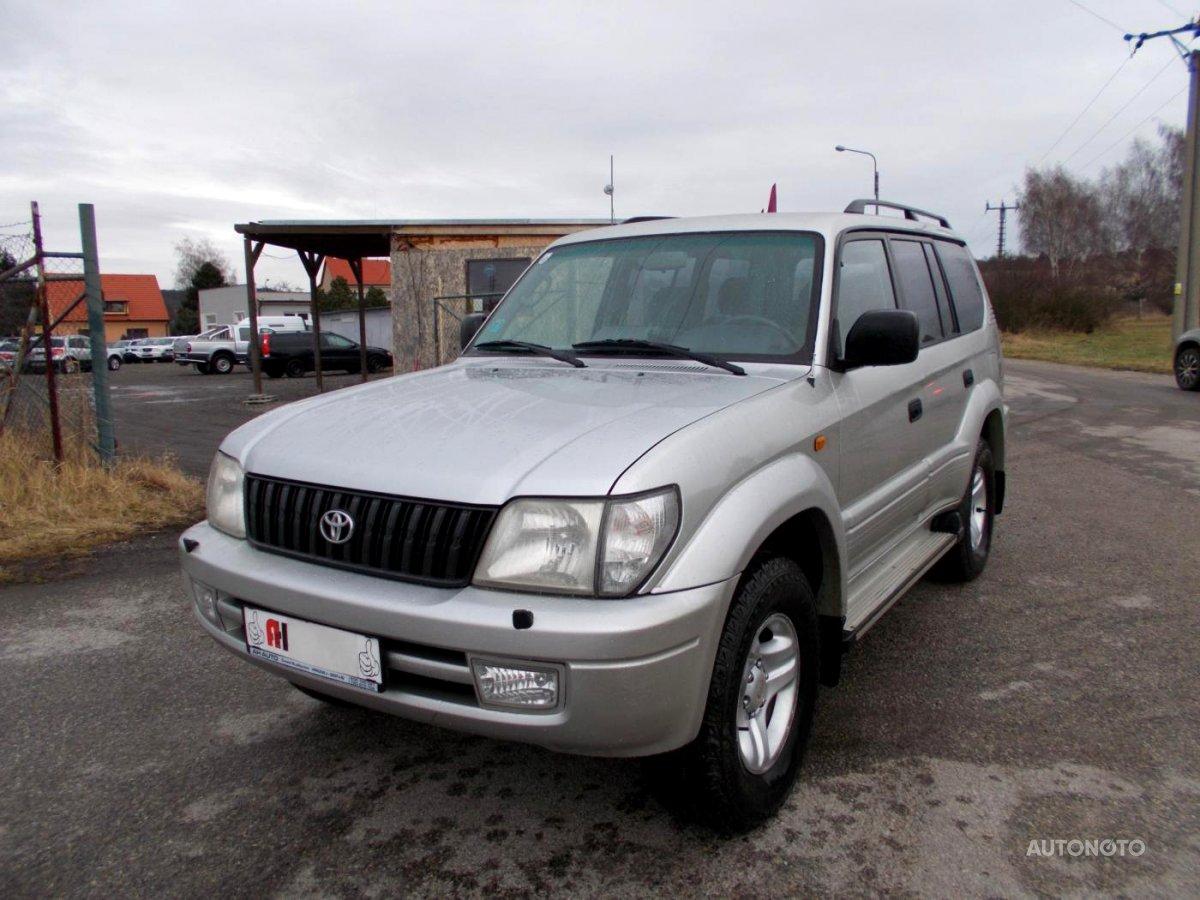 Toyota Land Cruiser, 2001 - celkový pohled