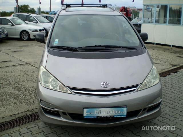 Toyota Previa, 2005 - celkový pohled