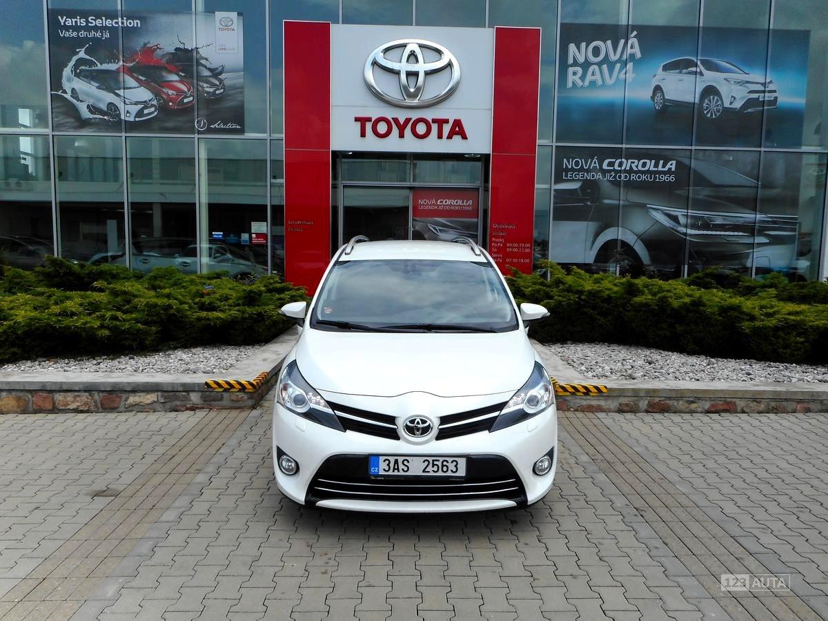 Toyota Verso, 2013 - celkový pohled