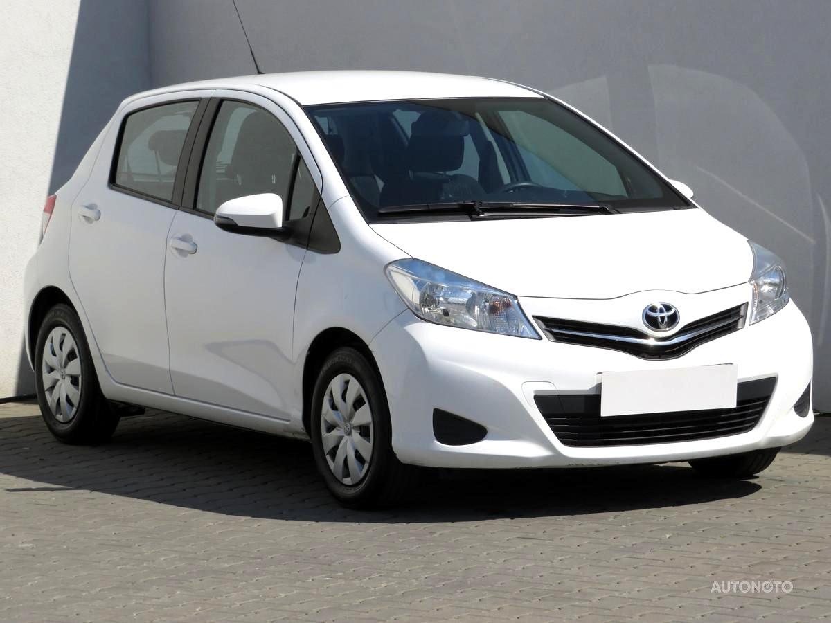 Toyota Yaris, 2013 - celkový pohled