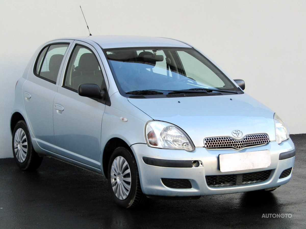 Toyota Yaris, 2004 - celkový pohled