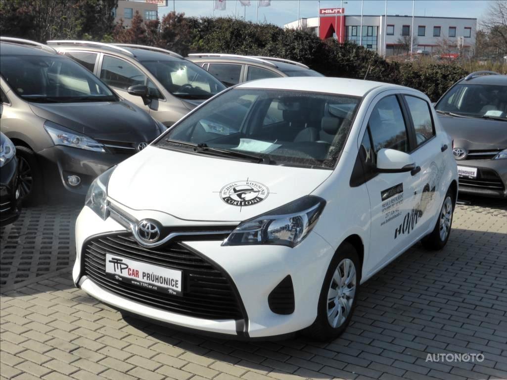 Toyota Yaris, 2016 - celkový pohled