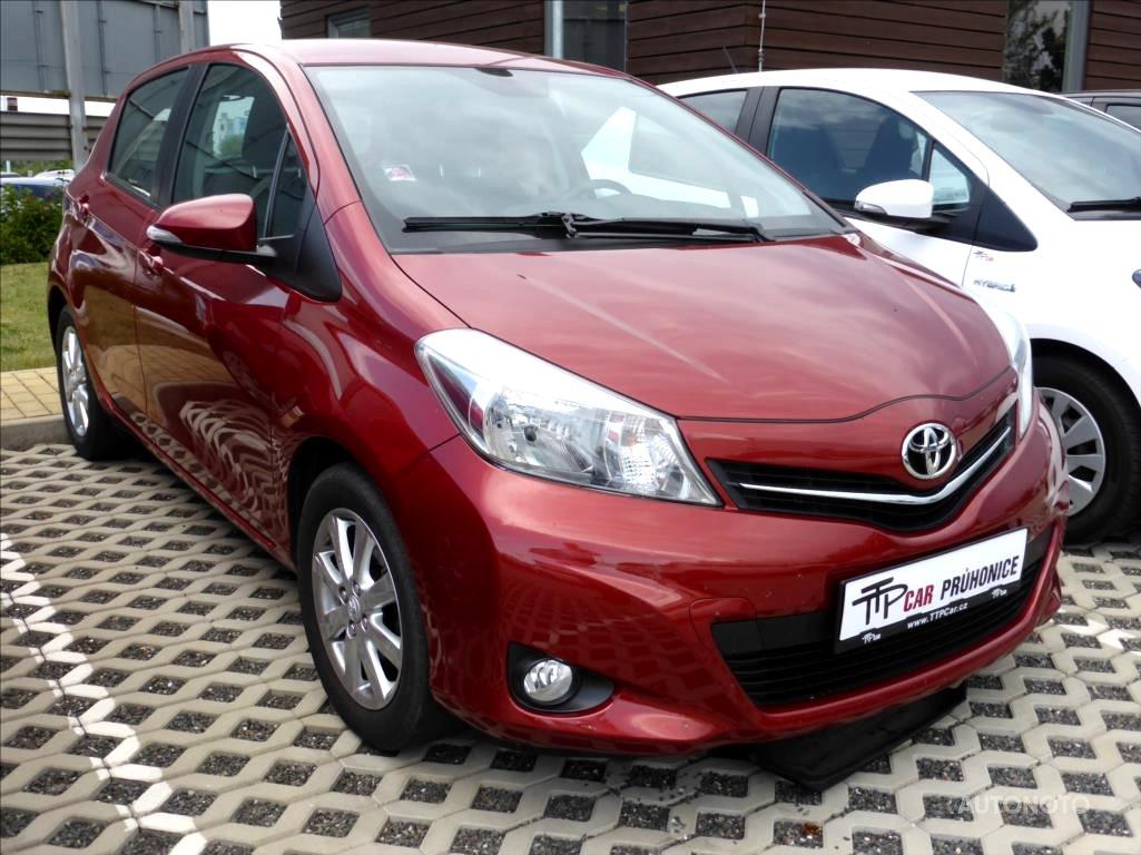 Toyota Yaris, 2012 - celkový pohled