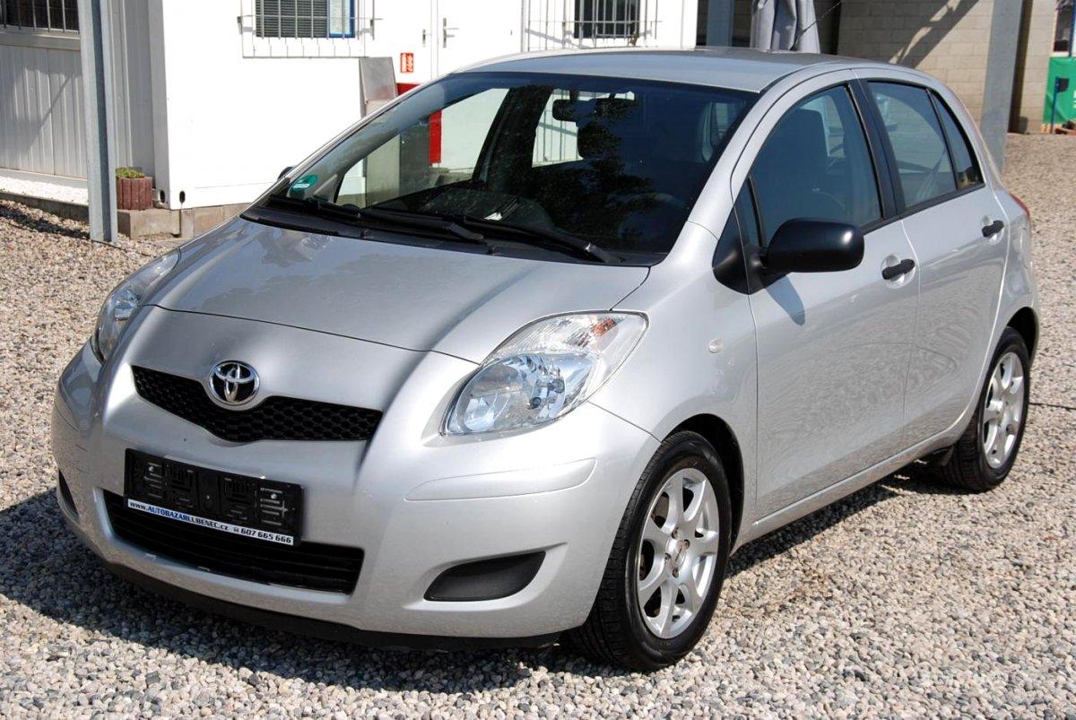 Toyota Yaris, 2009 - celkový pohled