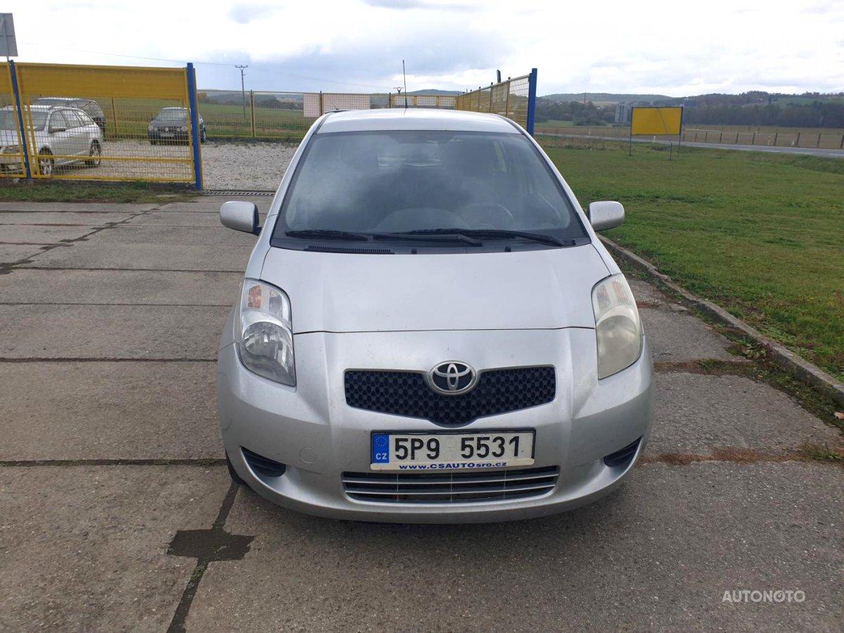 Toyota Yaris, 2007 - celkový pohled
