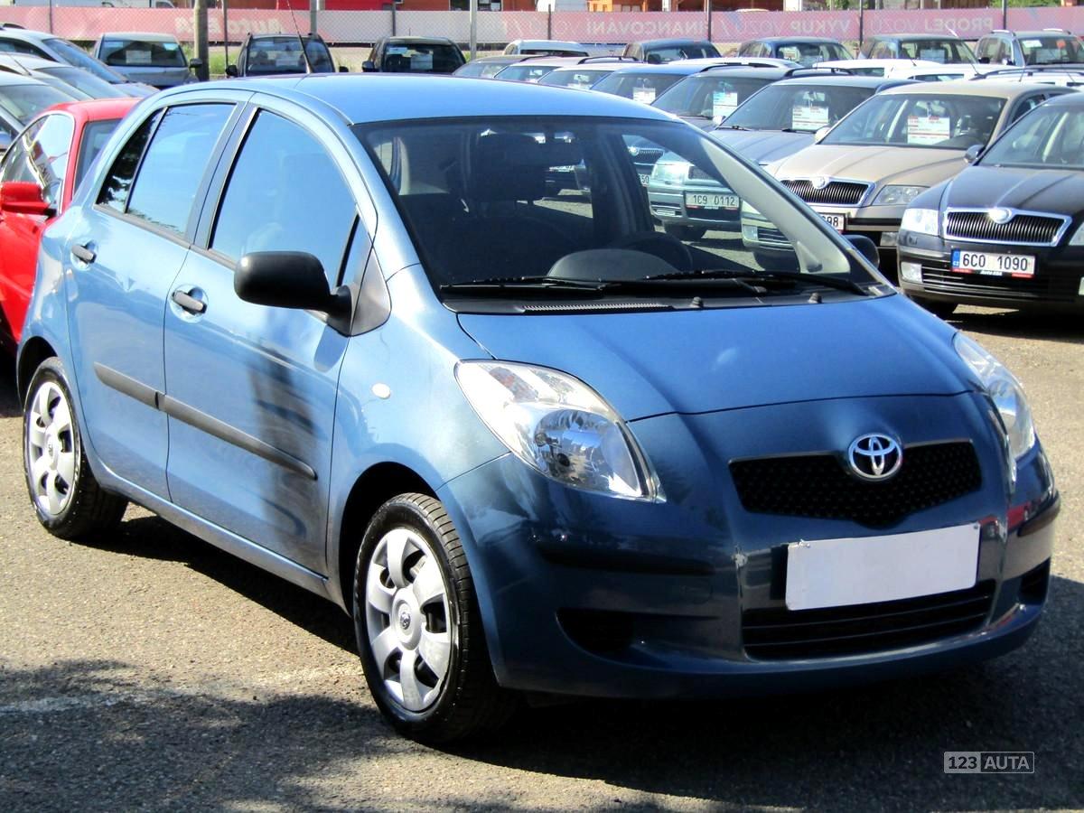 Toyota Yaris, 2008 - celkový pohled