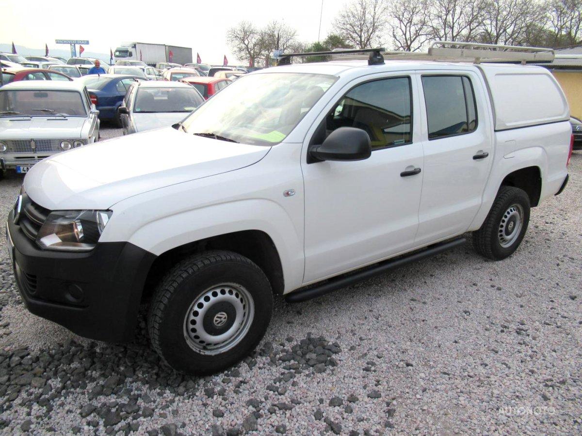 Volkswagen Amarok, 2012 - celkový pohled