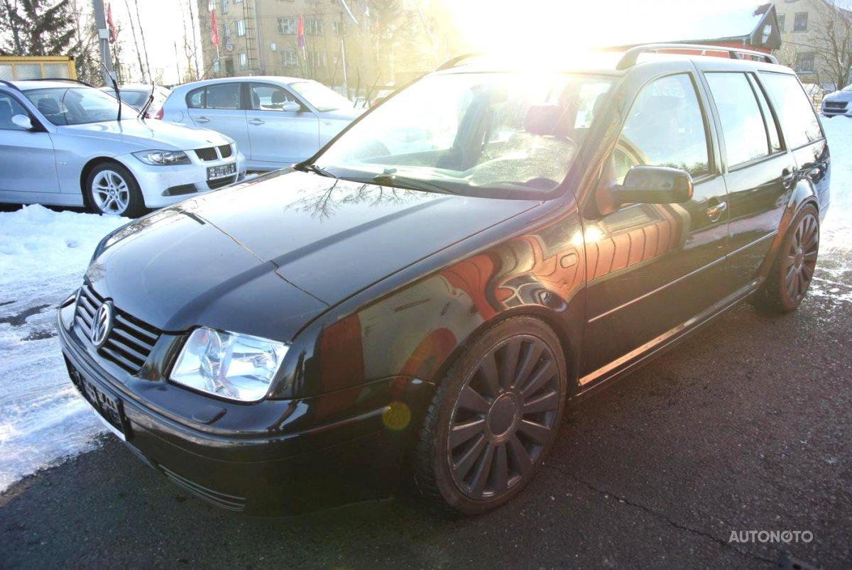 Volkswagen Bora, 1999 - celkový pohled