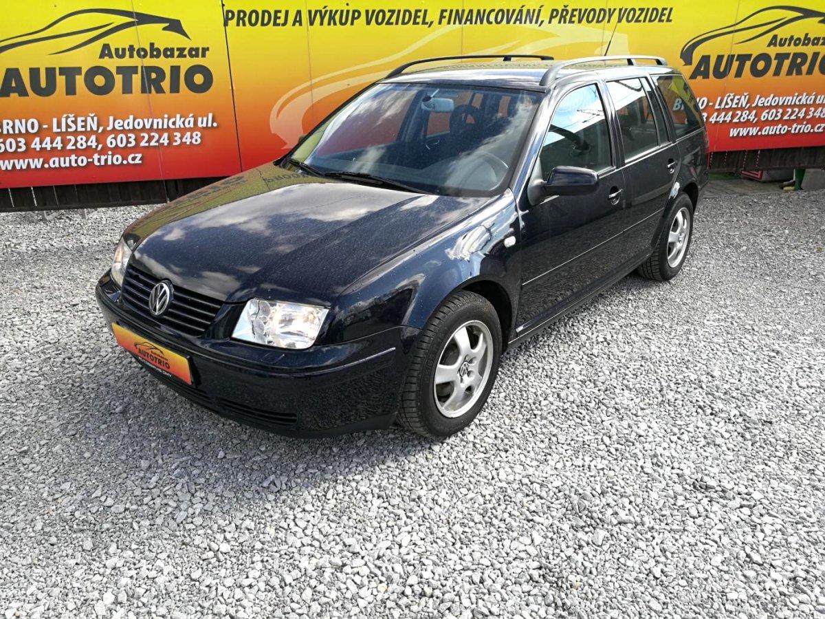 Volkswagen Bora, 2000 - celkový pohled