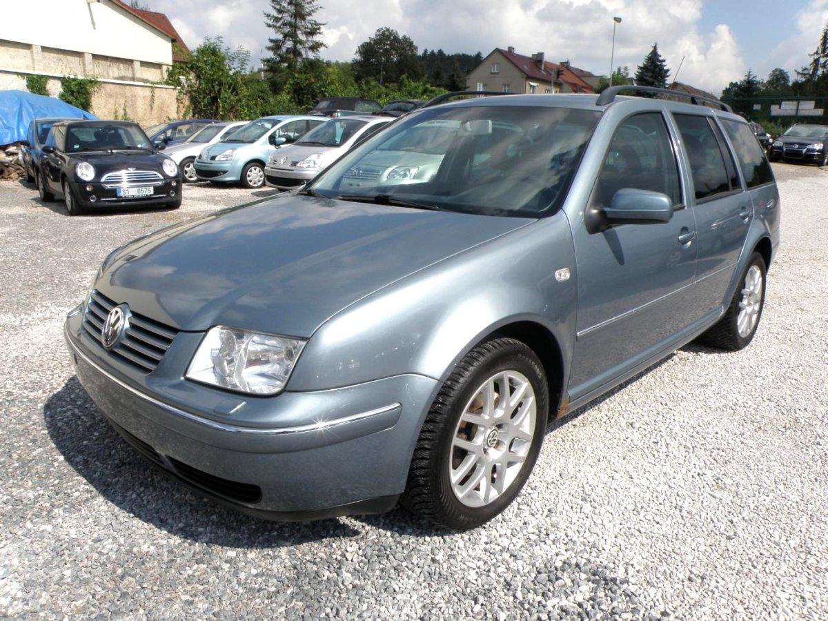 Volkswagen Bora, 2002 - celkový pohled