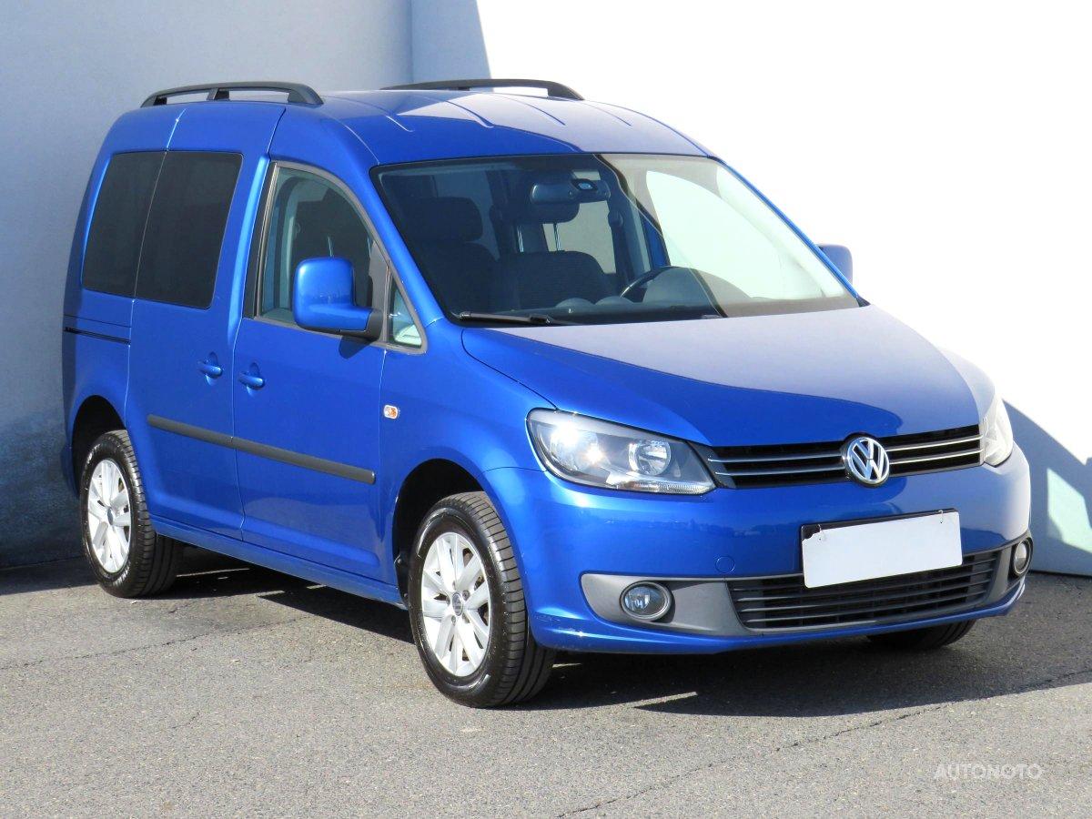 Volkswagen Caddy, 2010 - celkový pohled
