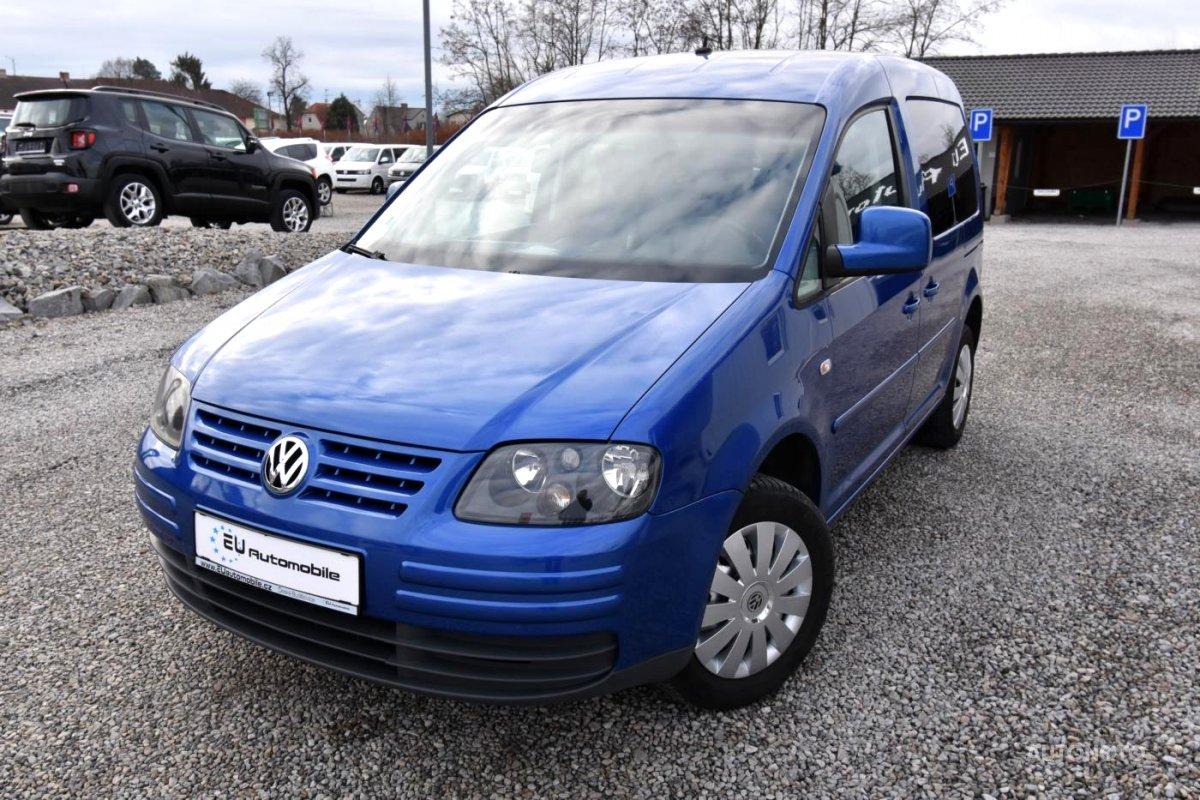 Volkswagen Caddy, 2006 - celkový pohled