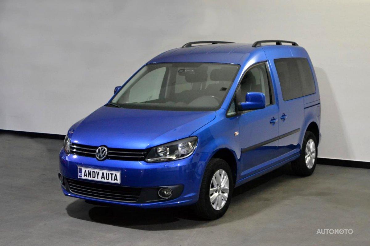 Volkswagen Caddy, 2013 - celkový pohled