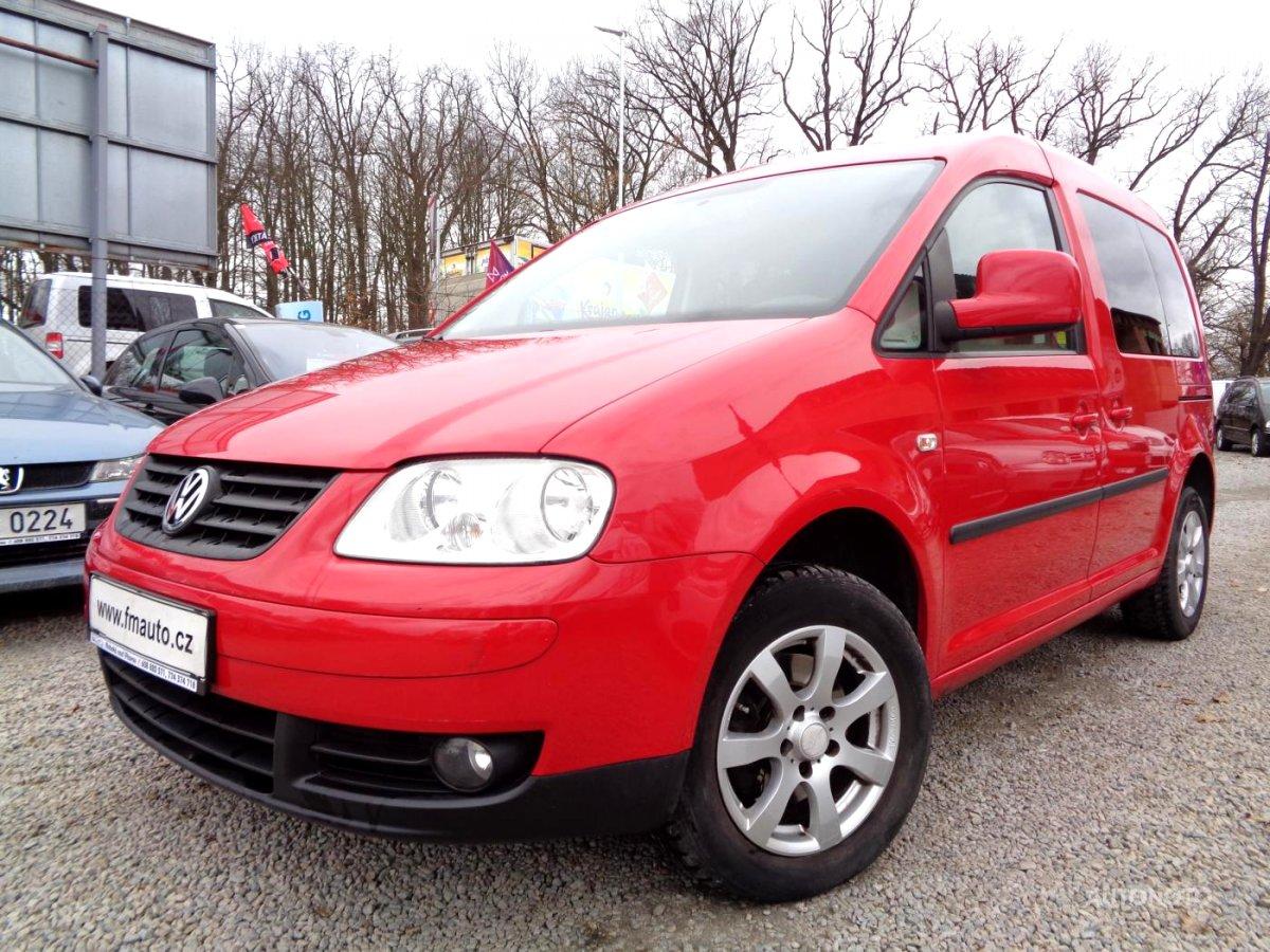 Volkswagen Caddy, 2007 - celkový pohled