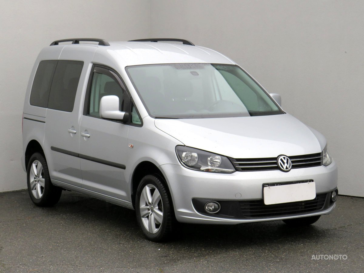 Volkswagen Caddy, 2012 - celkový pohled