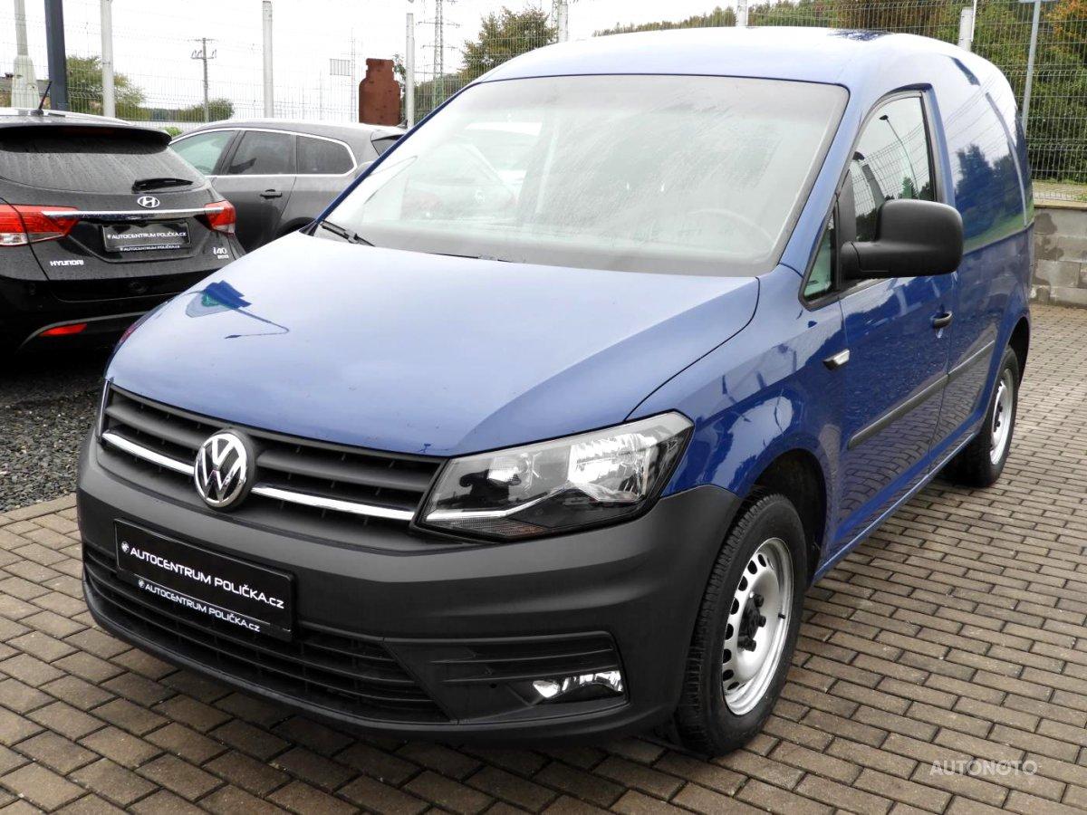 Volkswagen Caddy, 2016 - celkový pohled