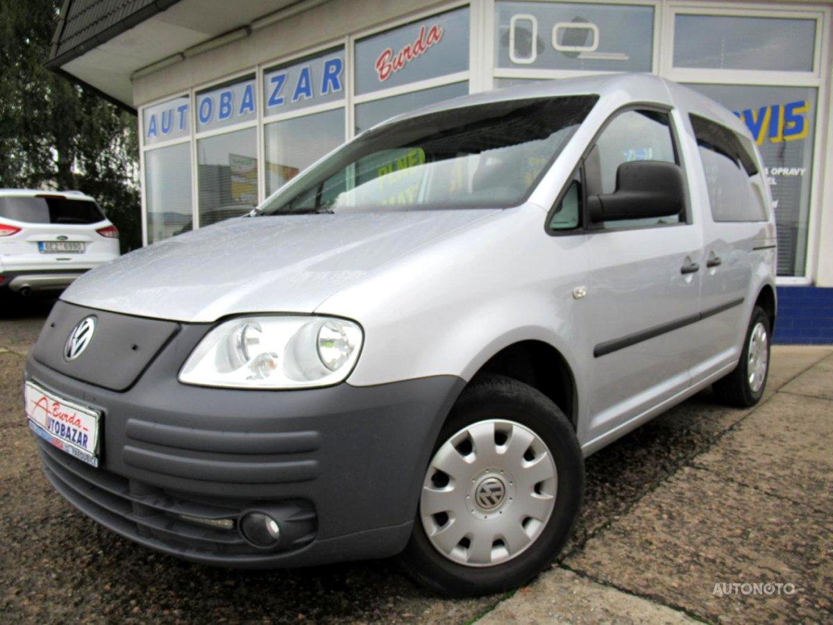 Volkswagen Caddy, 2005 - celkový pohled