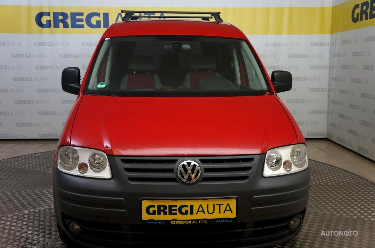 Volkswagen Caddy, 2008 - celkový pohled