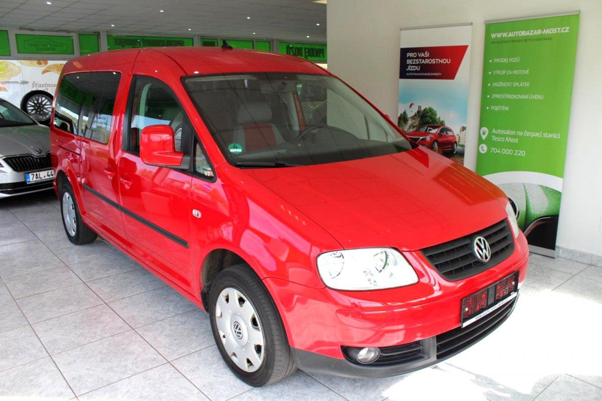 Volkswagen Caddy, 2009 - celkový pohled