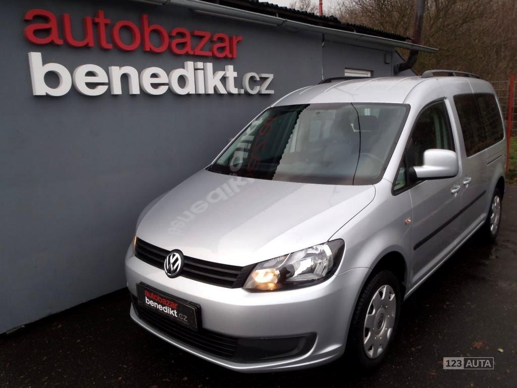 Volkswagen Caddy, 2011 - celkový pohled