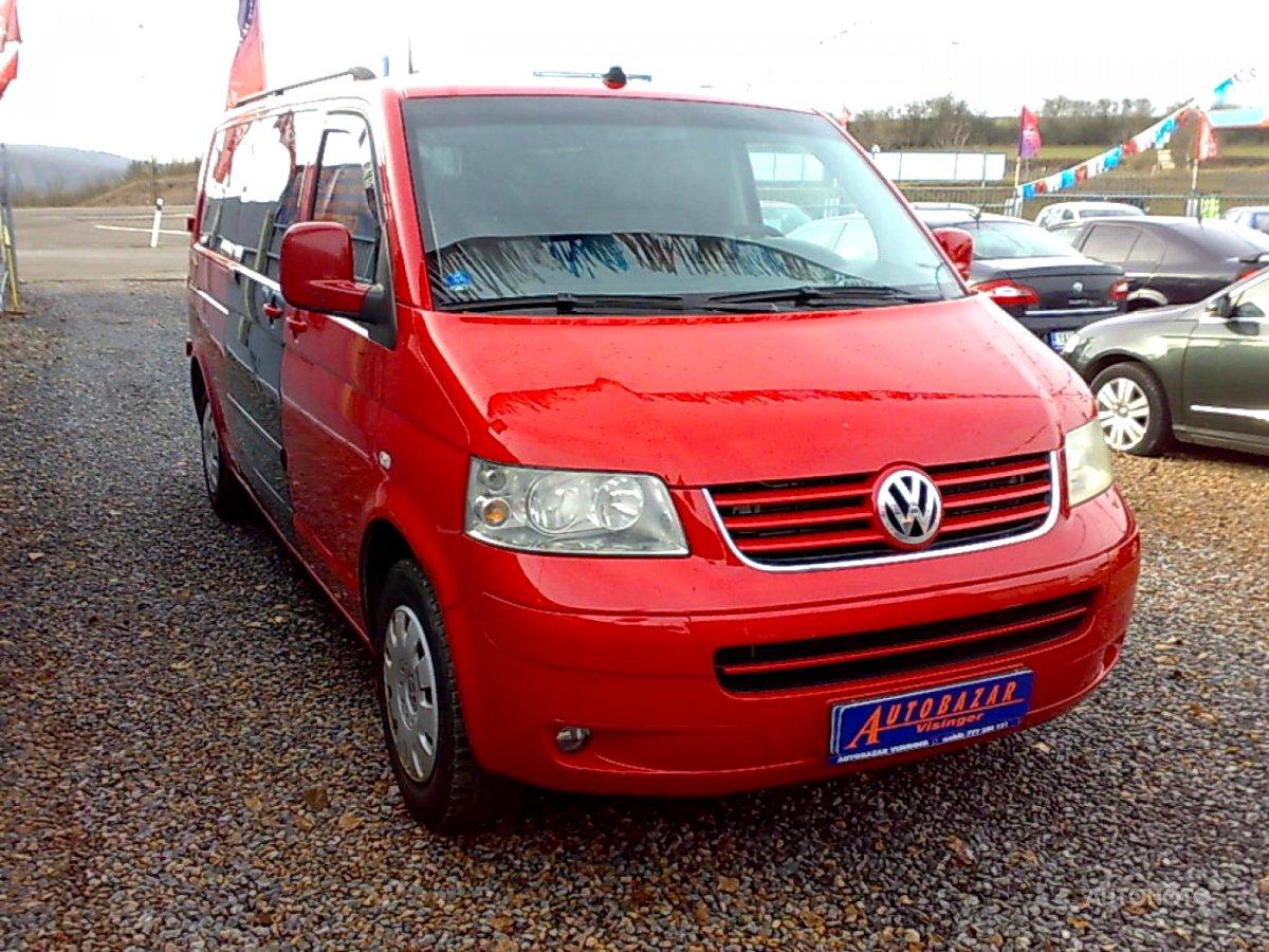 Volkswagen Caravelle, 2006 - celkový pohled
