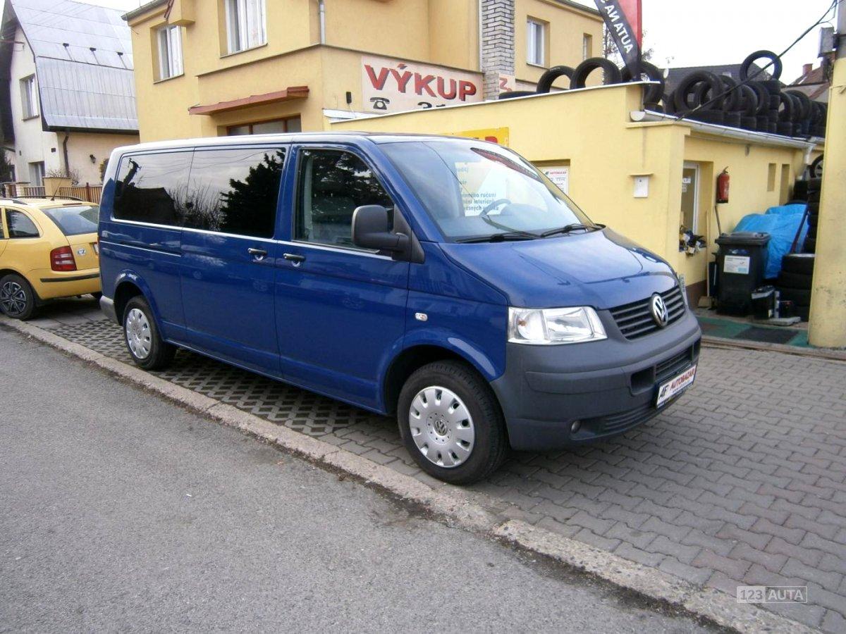 Volkswagen Caravelle, 2008 - celkový pohled