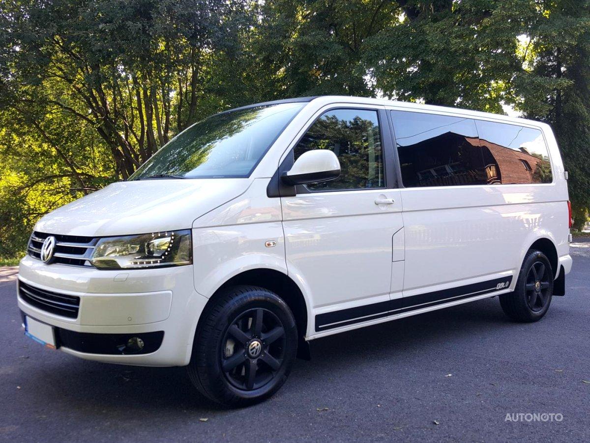 Volkswagen Caravelle, 2013 - celkový pohled