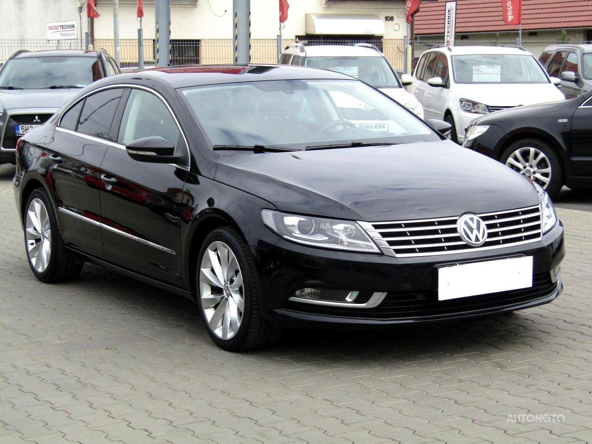 Volkswagen CC, 2012 - celkový pohled