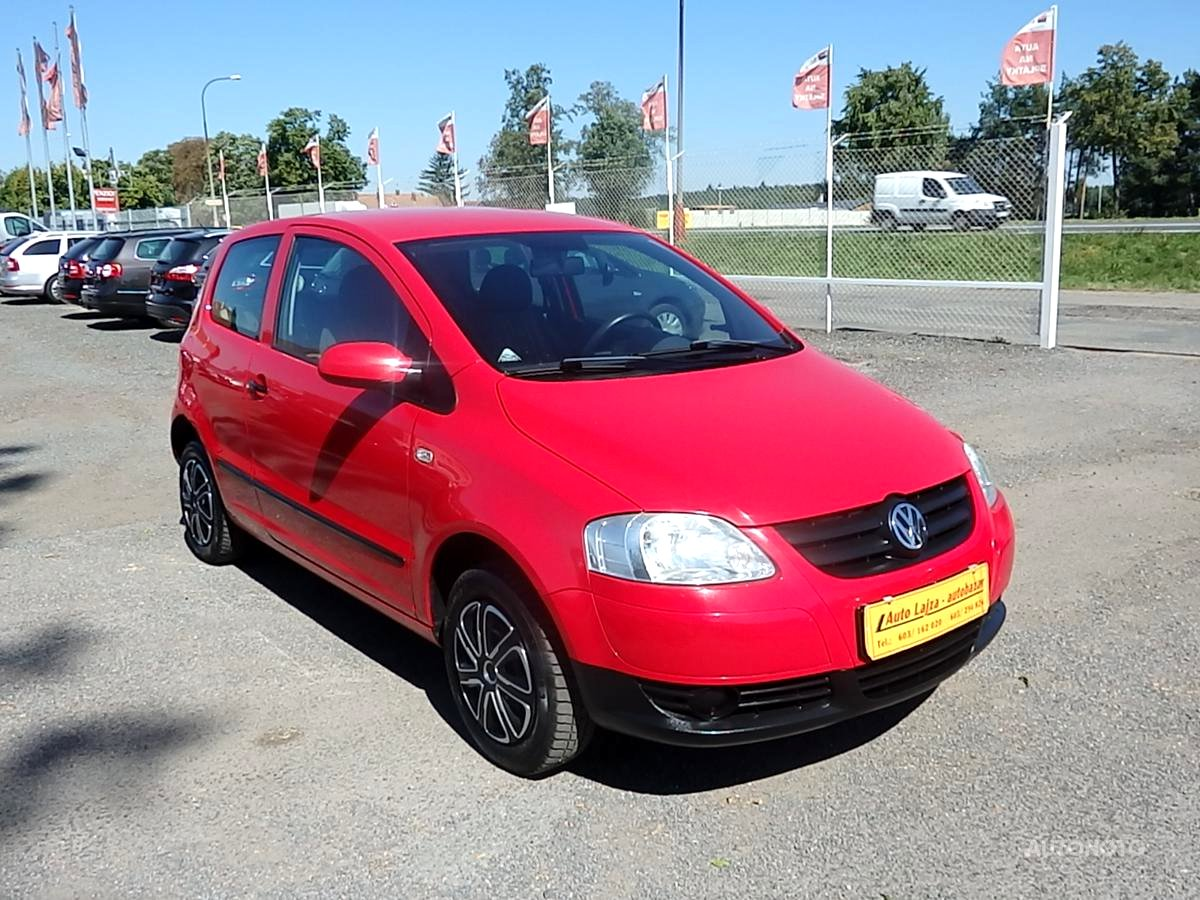 Volkswagen Fox, 2006 - celkový pohled