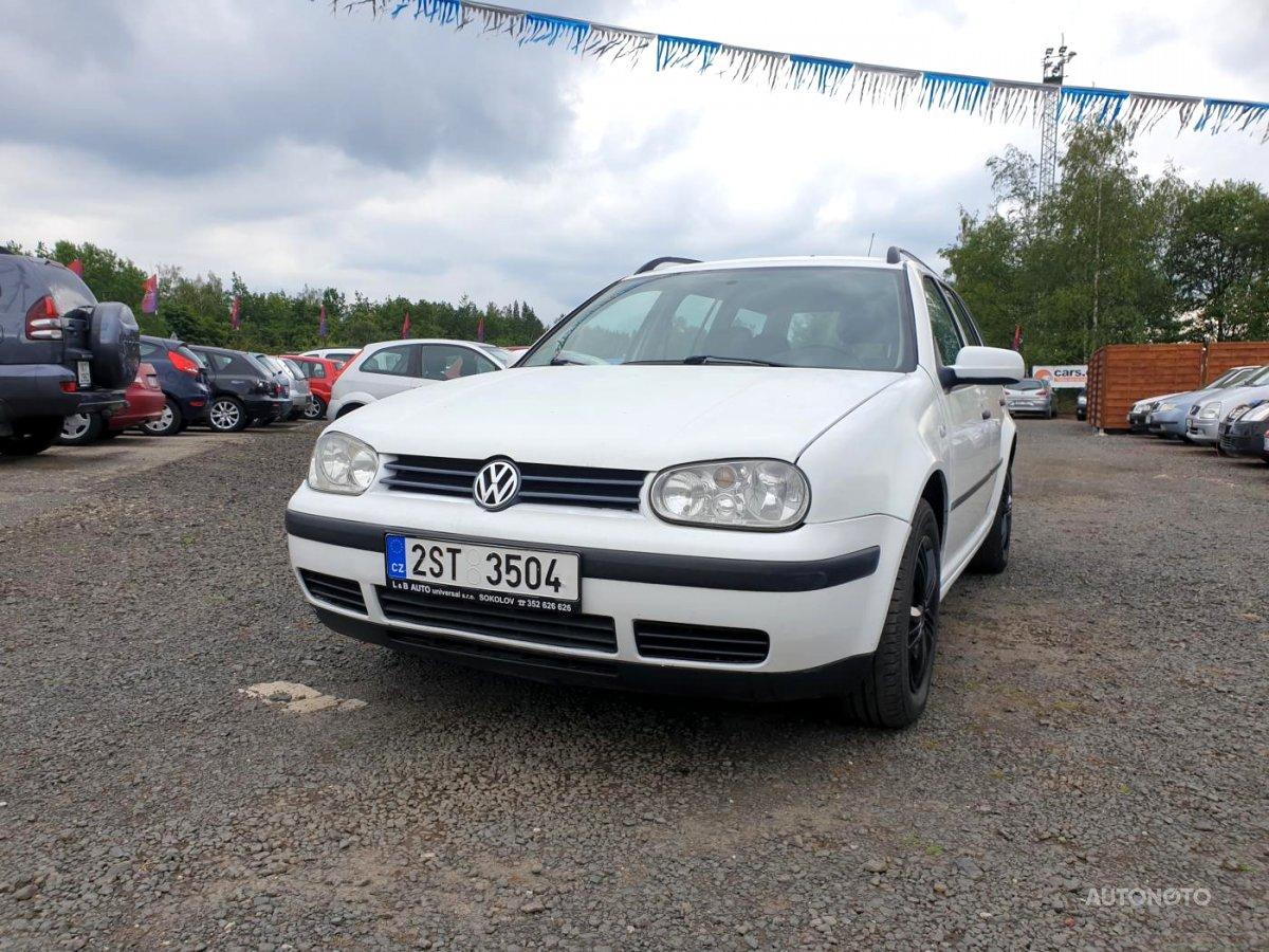 Volkswagen Golf Variant, 2000 - celkový pohled