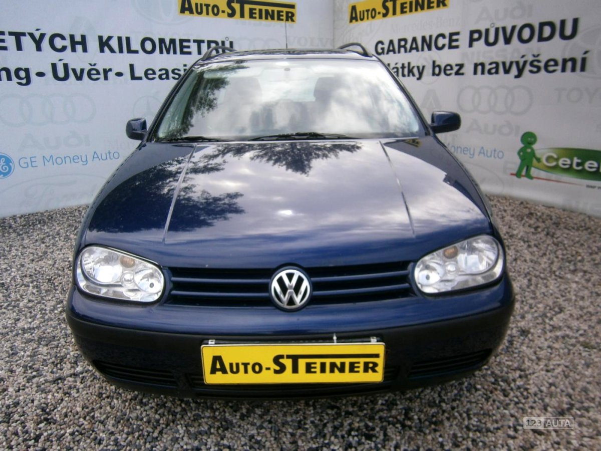 Volkswagen Golf, 2002 - celkový pohled