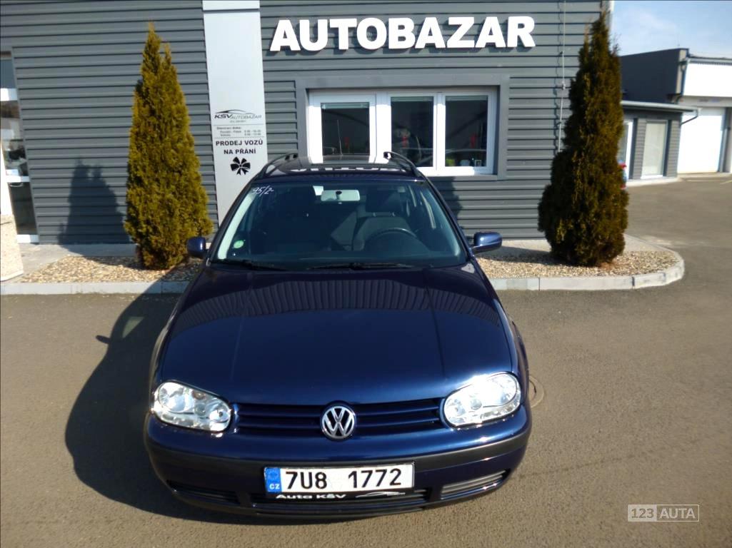 Volkswagen Golf, 2003 - celkový pohled