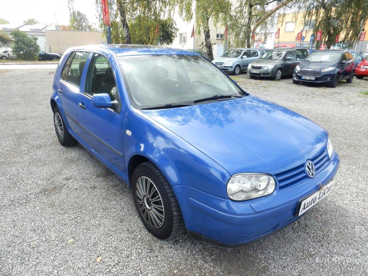 Volkswagen Golf, 1997 - celkový pohled