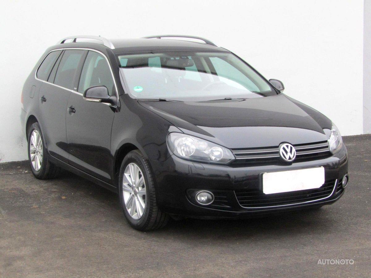 Volkswagen Golf, 2012 - celkový pohled
