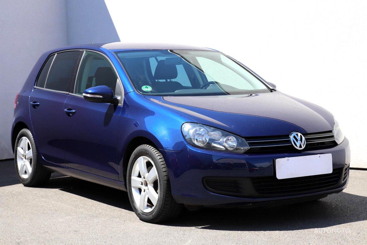 Volkswagen Golf, 2010 - celkový pohled