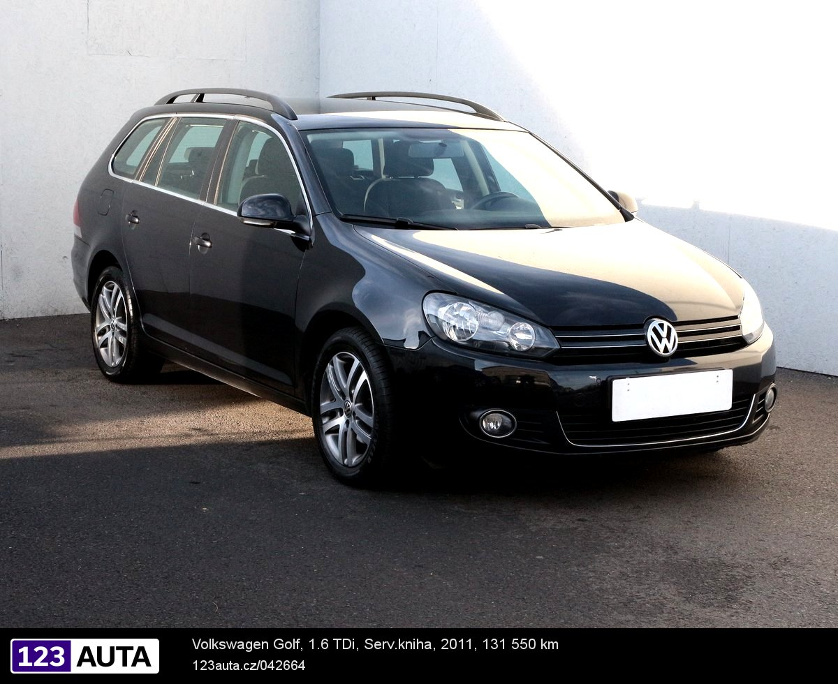 Volkswagen Golf, 2011 - celkový pohled