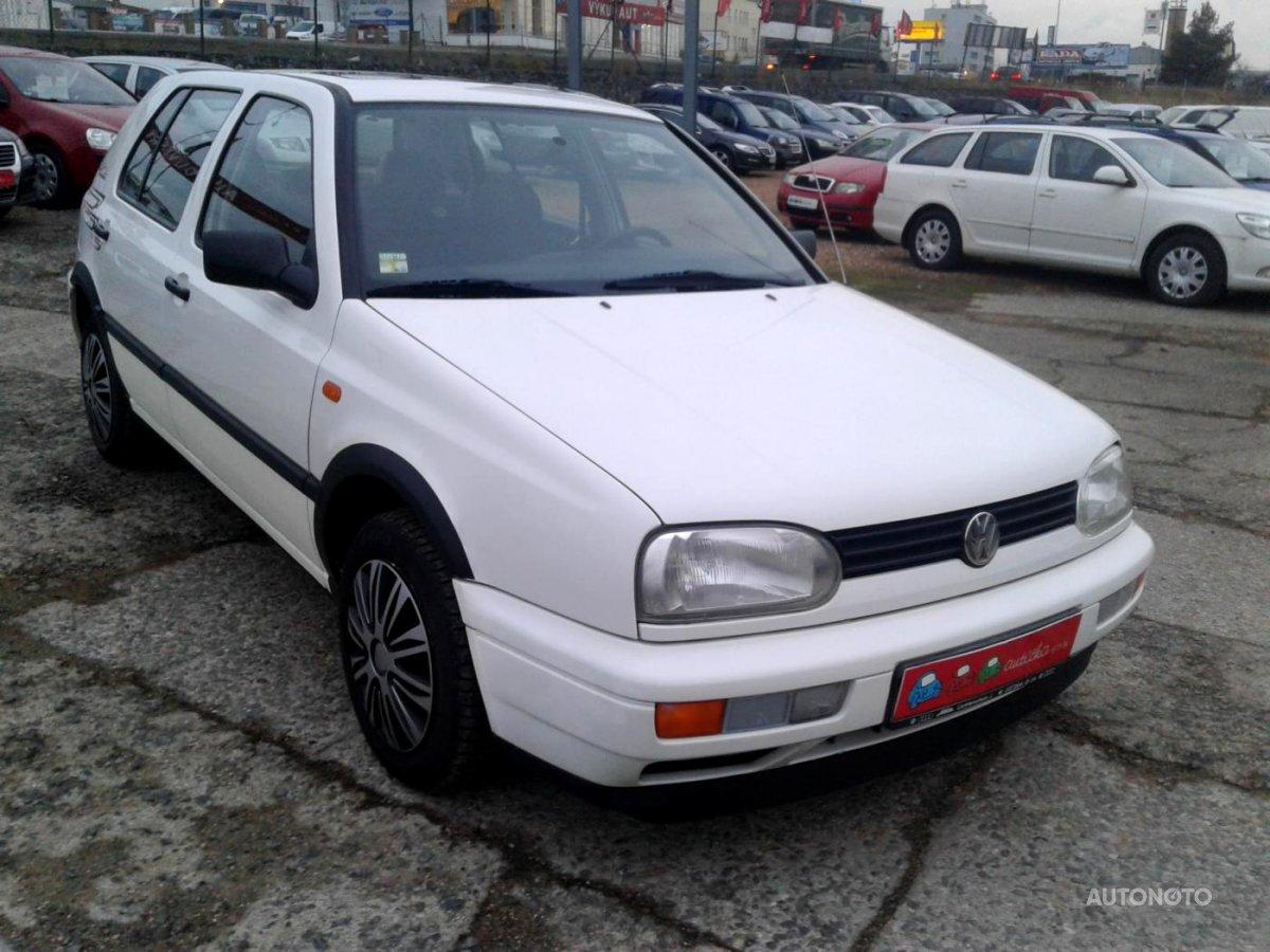 Volkswagen Golf, 1996 - celkový pohled