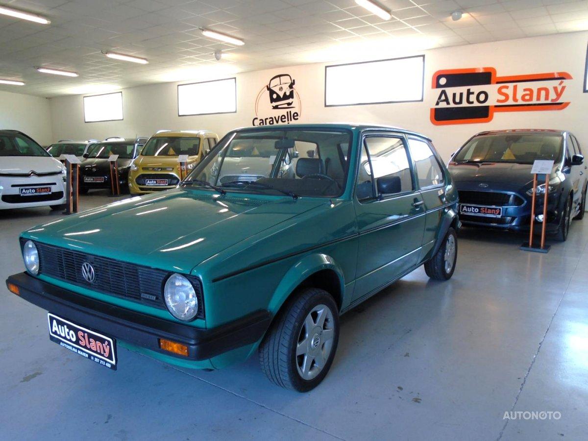 Volkswagen Golf, 1982 - celkový pohled