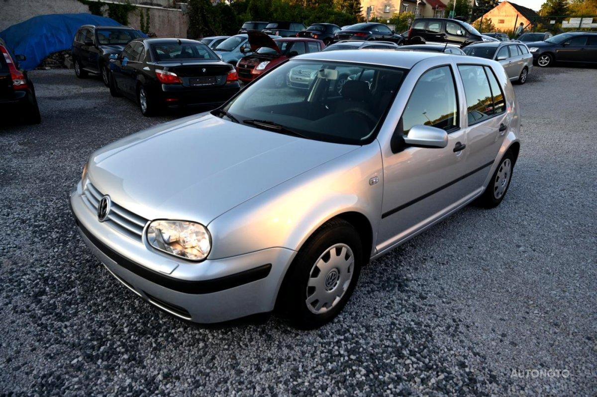 Volkswagen Golf, 2001 - celkový pohled