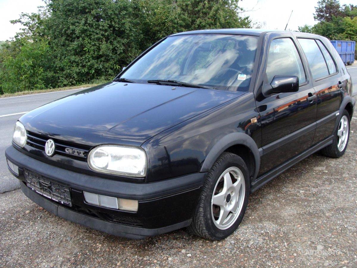 Volkswagen Golf, 1995 - celkový pohled