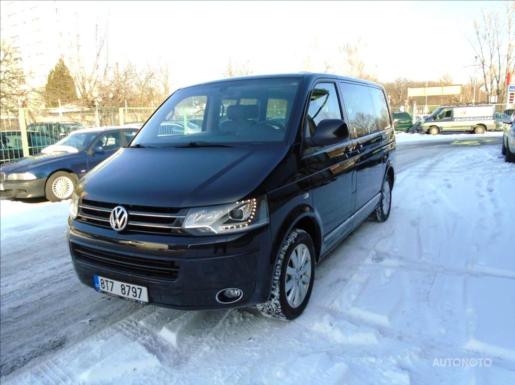 Volkswagen Multivan, 2012 - celkový pohled