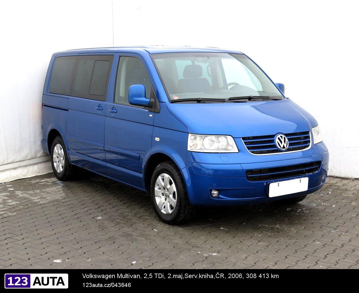 Volkswagen Multivan, 2006 - celkový pohled