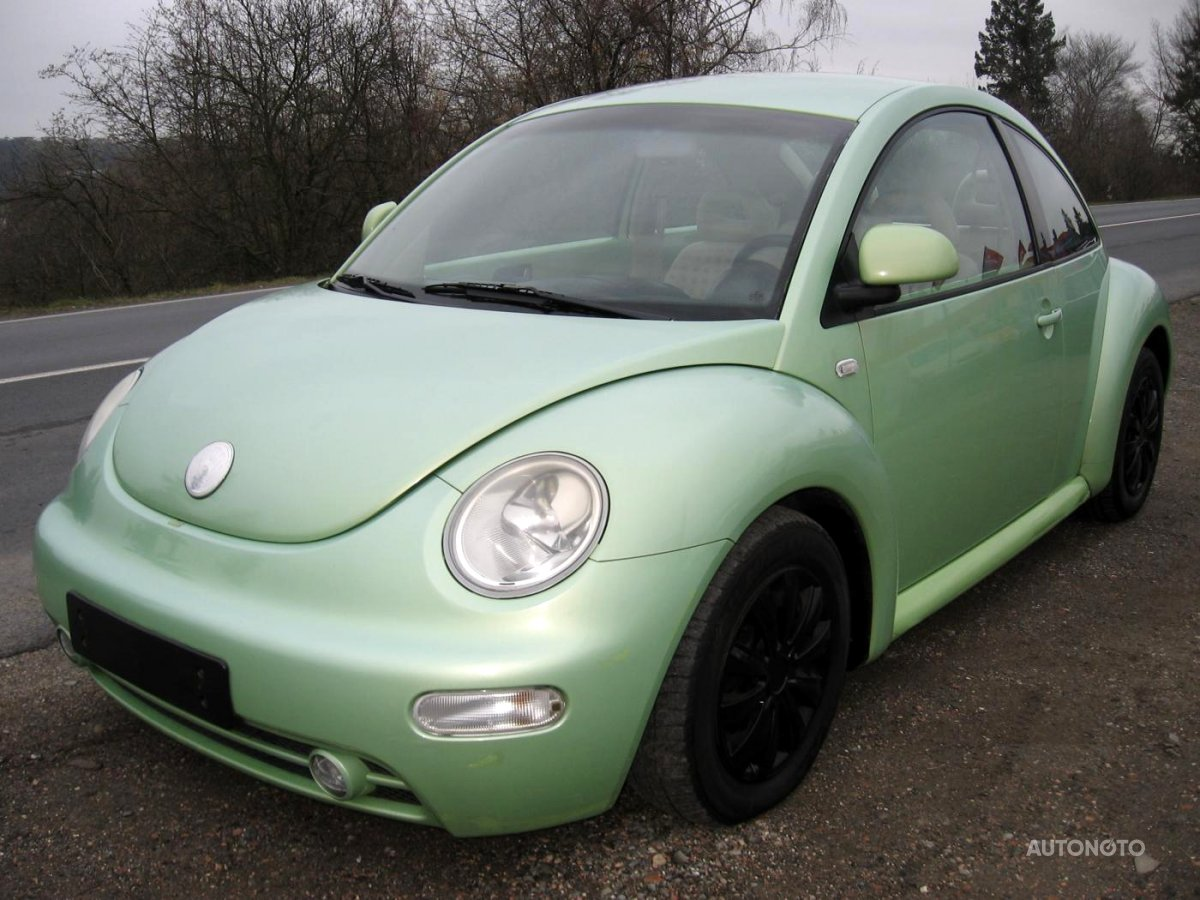 Volkswagen New Beetle, 1998 - celkový pohled